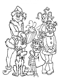 free printable coloring pages grinch stole christmas   Fun Coloring Pages: The Grinch who stole christmas ...
