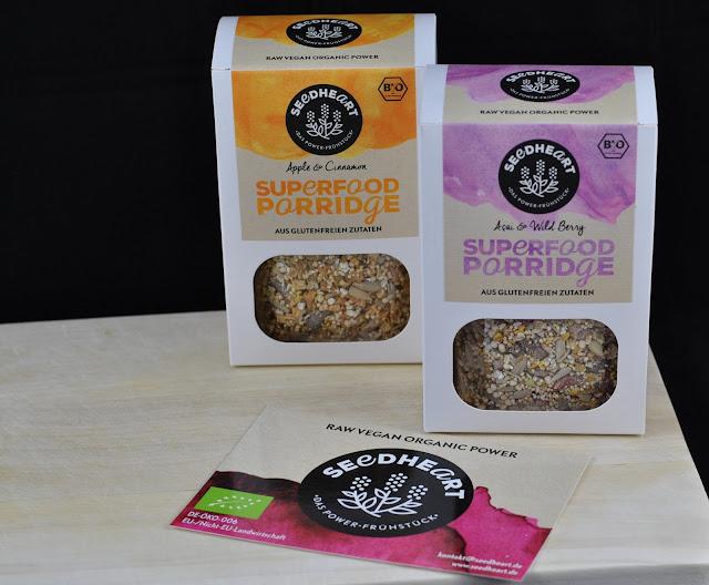 Gewinnspiel: Superfood Porridges von Seedheart