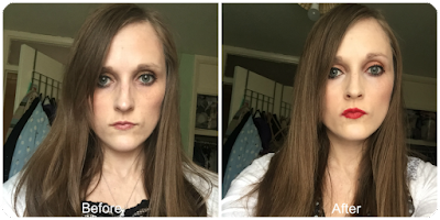before and after coco loco coconut balm