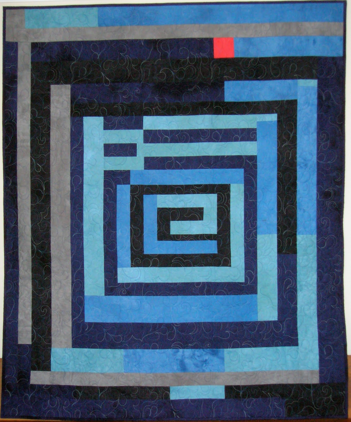 Gee's Bend Housetop Denim Quilt Pattern