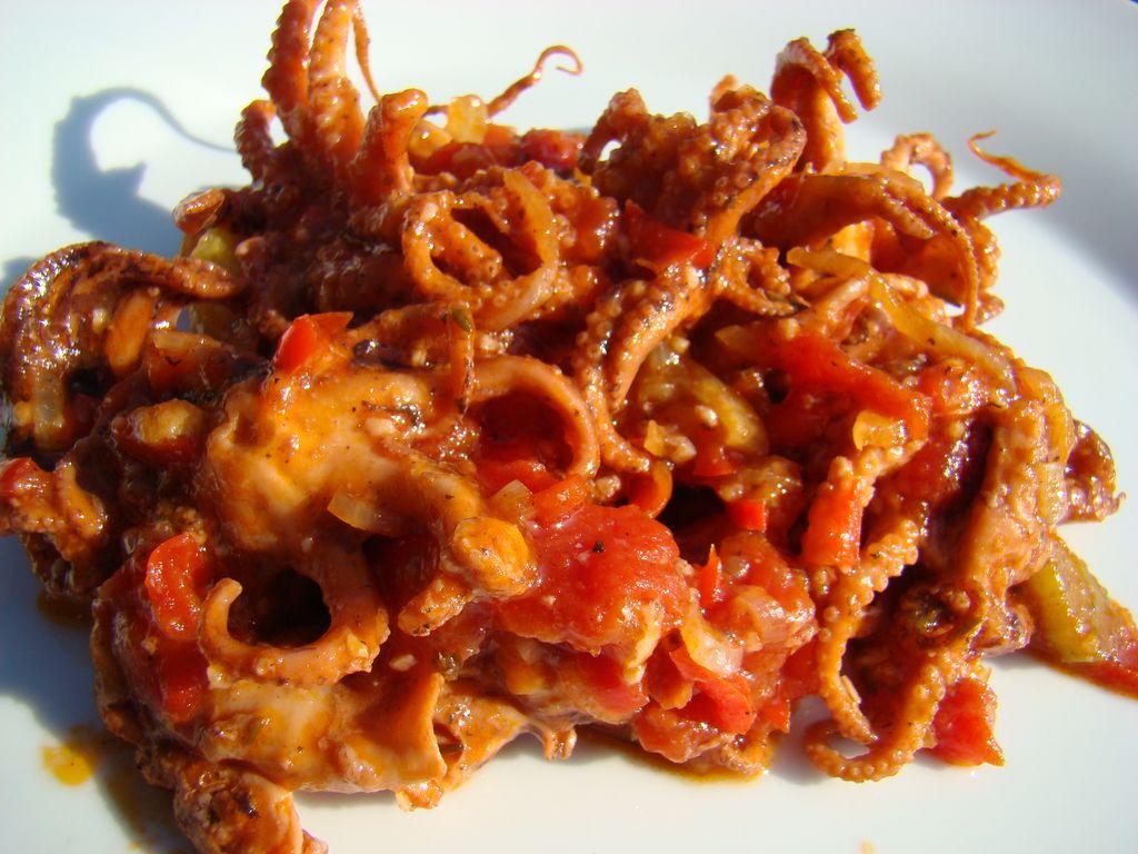 Cocottes et papinettes poulpe la s toise - Cuisiner des encornets ...