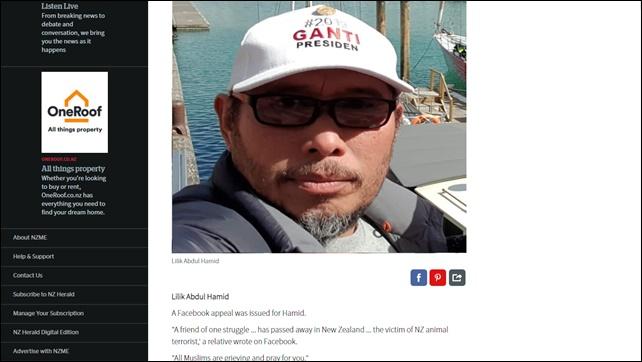 Innalillahi, Pendukung Prabowo-Sandi jadi Syuhada di Selandia Baru