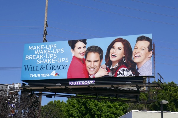 Will Grace season 10 billboard