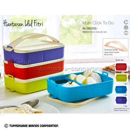 Multi Click to Go ~ Katalog Tupperware Promo Juni 2016