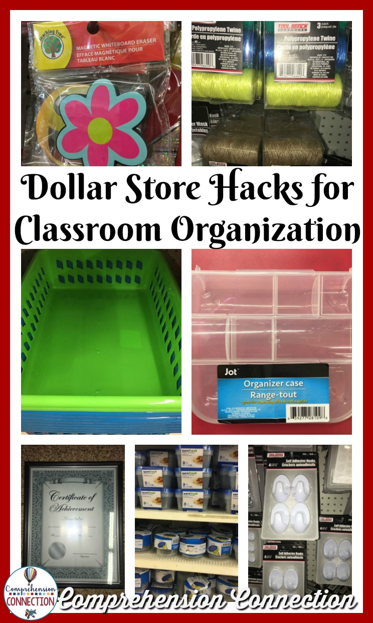 Dollar Store Hacks & How I Use Them - Comprehension Connection