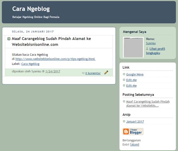 Tema Blog Gratis Bawaan Blogger dari Pertama sampai Sekarang