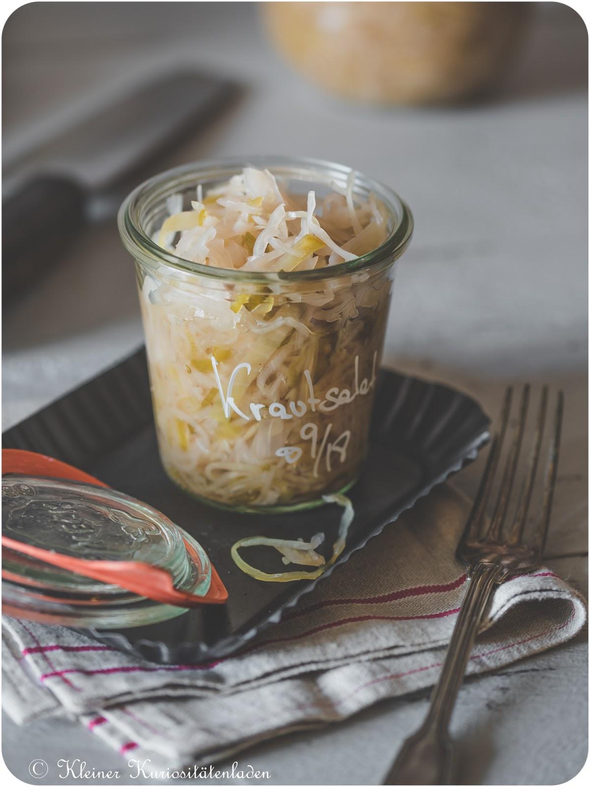 Krautsalat, eingeweckt