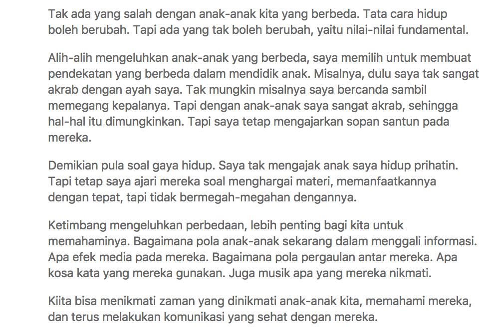 Orang Tua Indonesia Lebih Suka Liat Anaknya Kawin Dari Pada