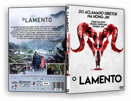 CAPA DVD – O LAMENTO DVDR AUTORADO – ISO