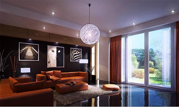 Ide Dekorasi Lukisan Dinding Ruang Tamu Modern