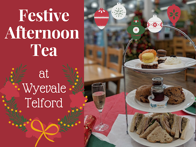 Festive afternoon tea Wyevale Telford