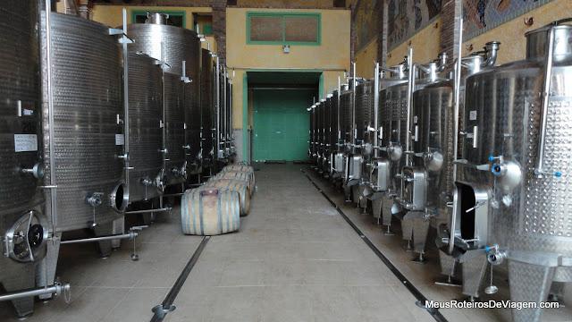 Produção da vinícola Villa Francioni - São Joaquim/SC