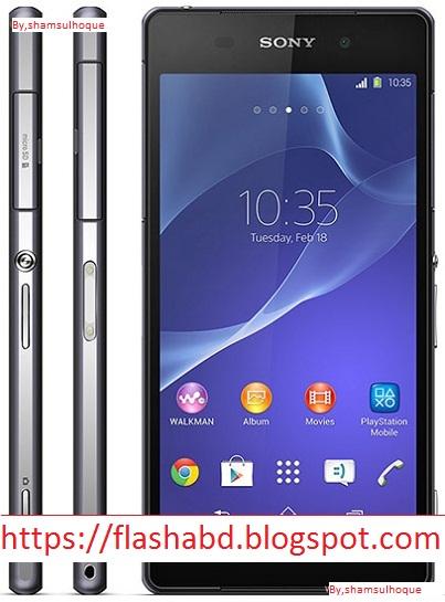 Clone Sony Xperia Z3 MT6572 Stock Firmware ROM (Flash File) | All