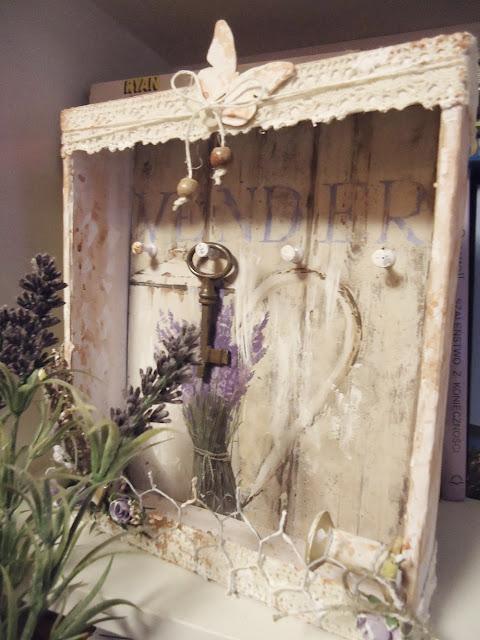 craft szafeczka na klucze