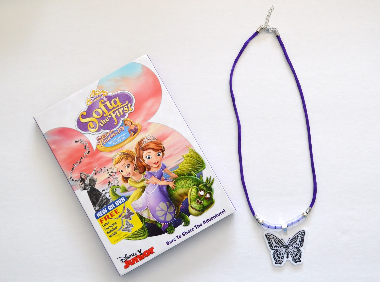 Sofia The First: The Curse of Princess Ivy DVD and Pendant