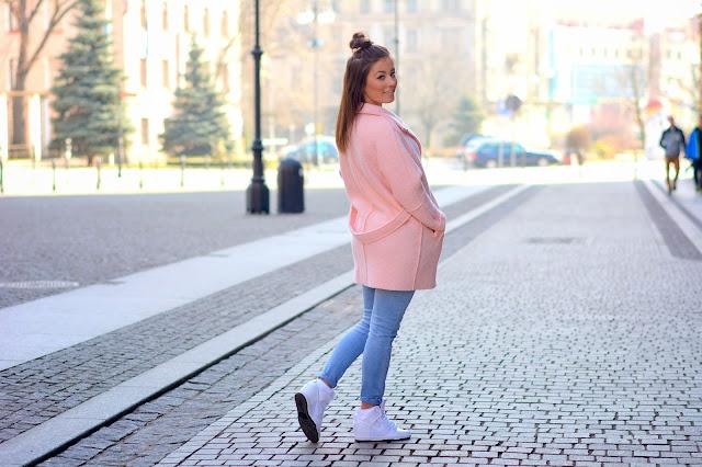 Pastel oversize coat - Czytaj więcej
