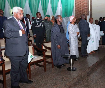 Photos from Nigeria's 56th Independence Anniversary Interdenominational Church Service