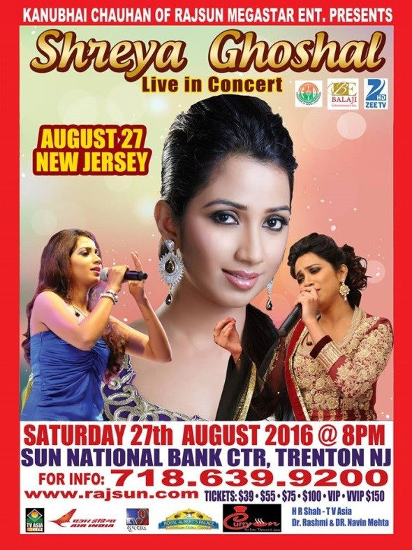 Shreya Ghoshal Concert 2016