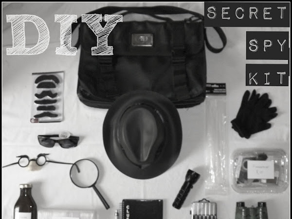 A DIY Secret Spy Kit