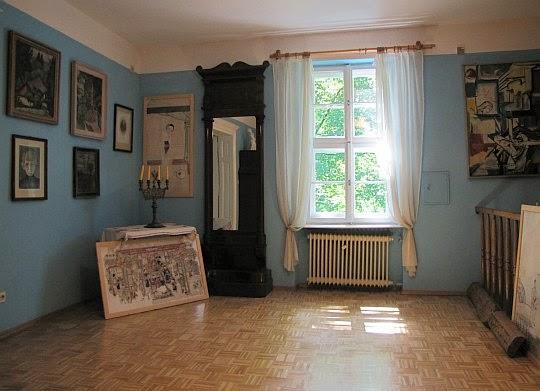 Pokój niebieski.