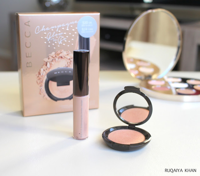 Champagne Pop Glow on the Go Kit Review and Swatches