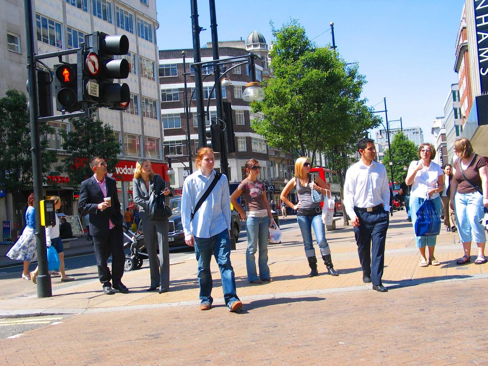 Free photo: City, People, Pedestrians, Walking - Free ...  |Person Walking City
