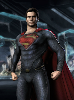 Man of Steel Skin for Injustice Gods Among Us