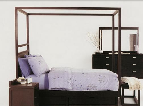 Simple Four Poster Canopy Beds 4