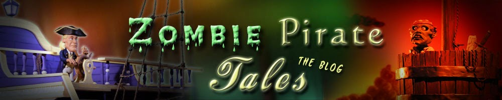 Zombie Pirate Tales: Behind the Scenes Blog