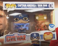 Funko Pop! F.Y.E Captain America & Iron Man 2-pack