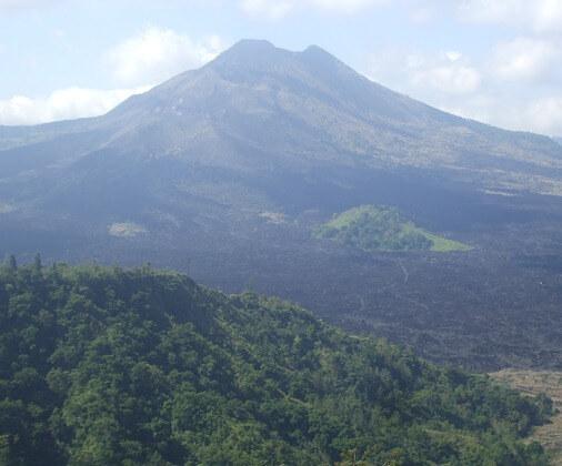 Mt Batur Volcano Kintamani Bali Indonesia