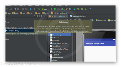 Android Studio - RadioGroup