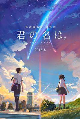 Kimi No Na Wa Poster HD