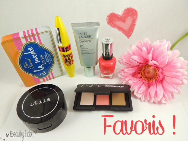 favoris beaute too faced stila estee lauder stila gemey nars