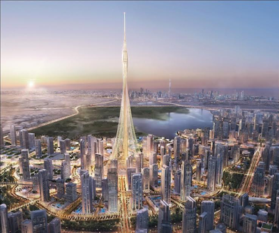 Groundbreaking of The Tower in Dubai, set to be the World's tallest in 2020 (photos)