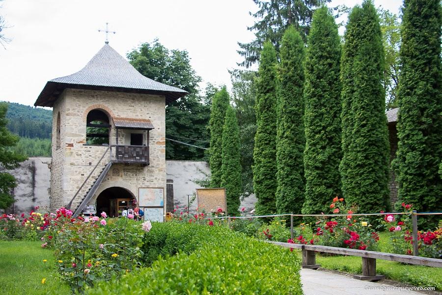 Rumanía, Bucovina, Monasterios pintados