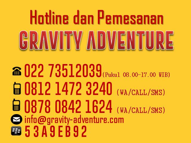 Kontak Gravity Adventure rafting bandung
