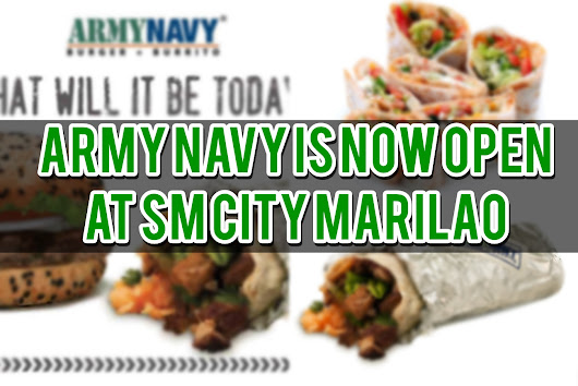 Army Navy is Now Open at SM City Marilao