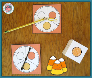 Spin or roll to play Candy Corn Collect & Sort, a free, engaging activity for preschoolers and kindergarteners.