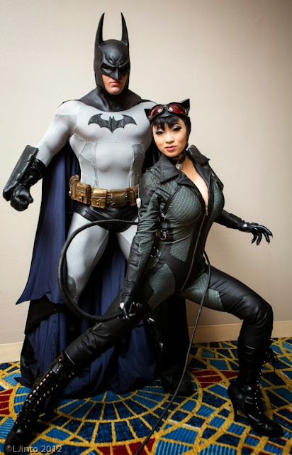 Batman and Catwoman Cosplay