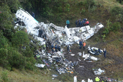 Brazil Airplane Crash.