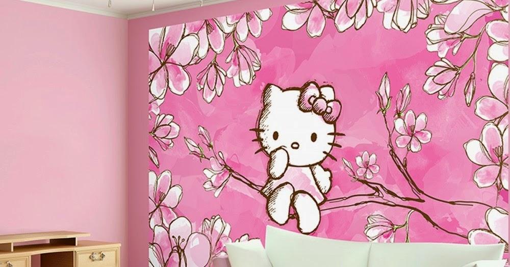 16 Lukisan Dinding Hello Kitty Gambar Kitan
