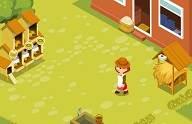 لعبة المزرعة السعيدة فلاش