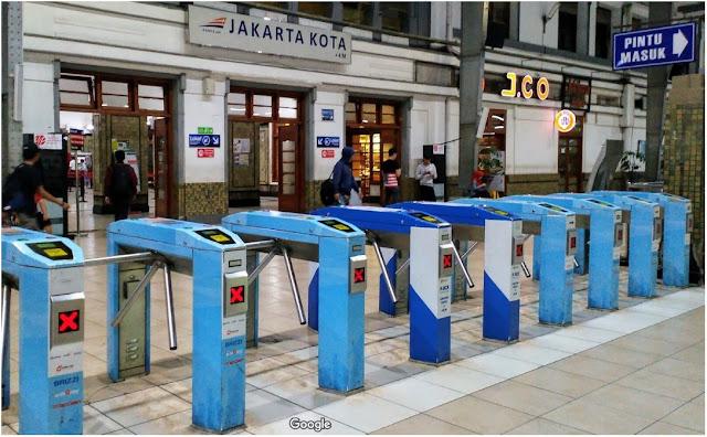 Jadwal KRL Jakarta Kota