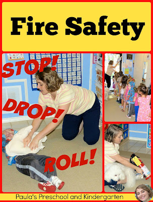 Learning about fire safety with Paula's Preschool and Kindergarten