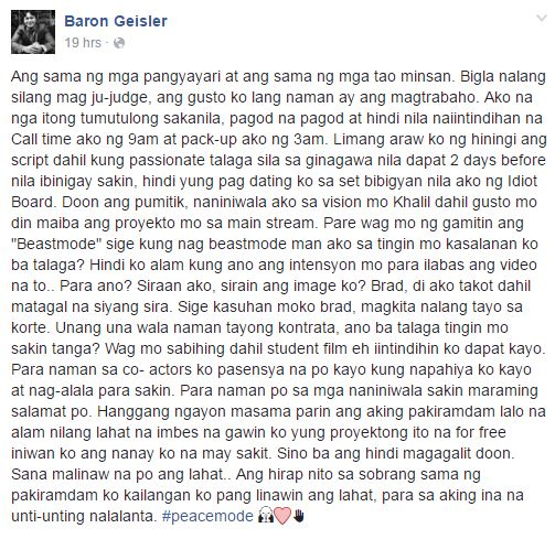 Baron Geisler breaks silence on viral assault video