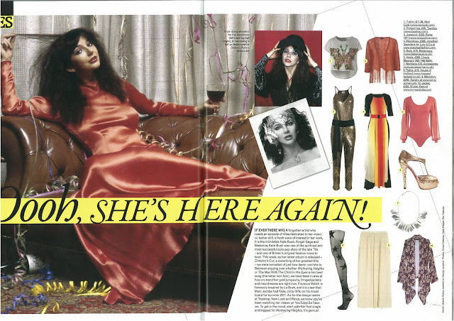 The Fashion Editor at Large: THE KATE BUSH FILES