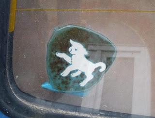 Lambs Ltd windscreen sticker