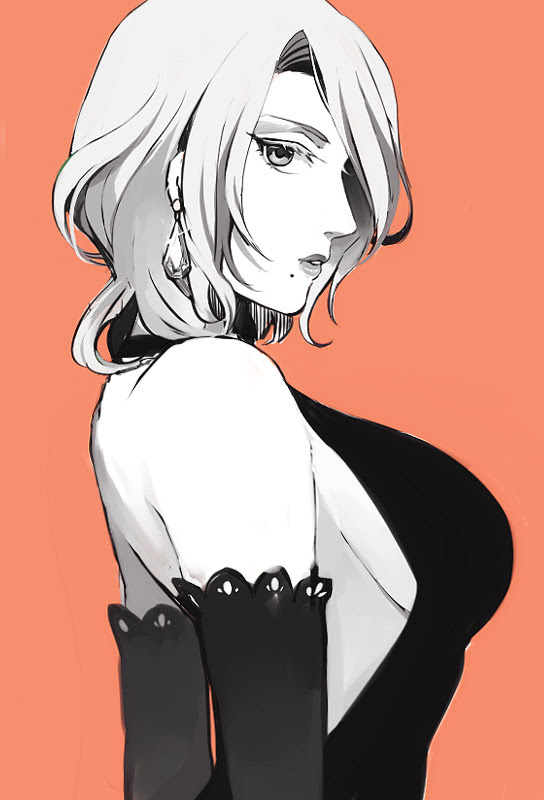matsumoto short hair with black dress