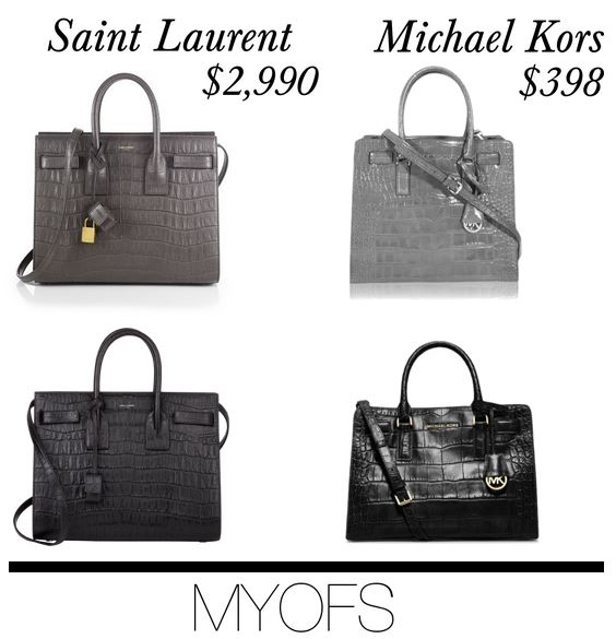8ab45b25528938 You might also like: Splurge or Save: Saint Laurent vs Michael Kors